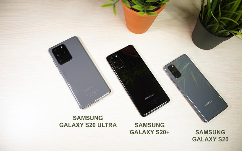 Samsung Galaxy S20 S20 Plus S20 Ultra
