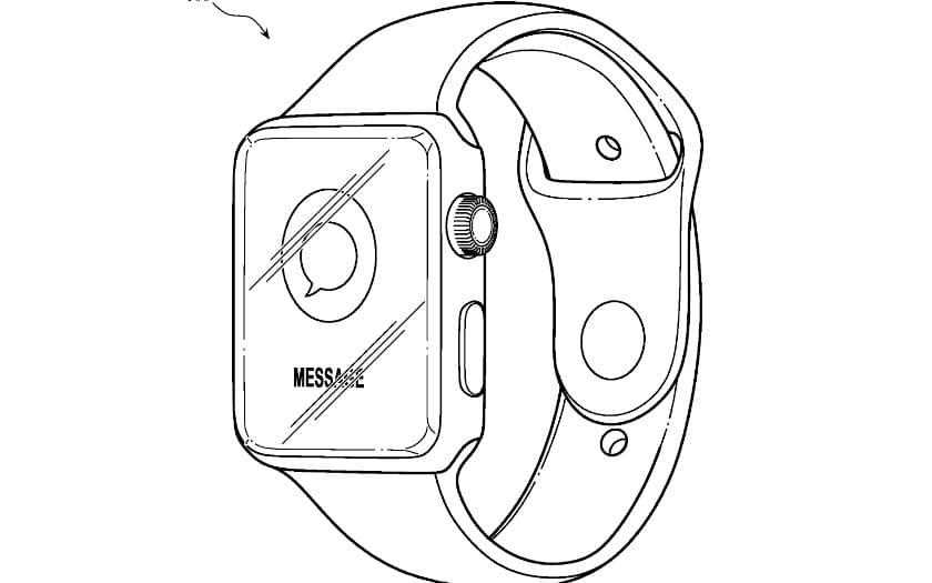 apple watch brevet boitier plastique