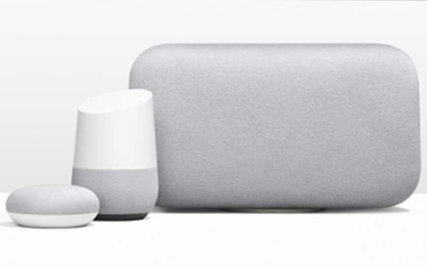 Enceintes connectées Google Home