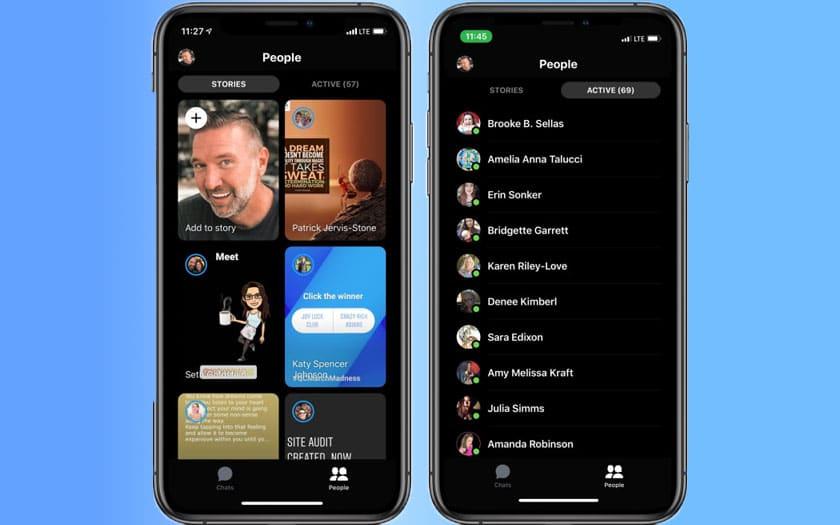 facebook messenger nouveau design