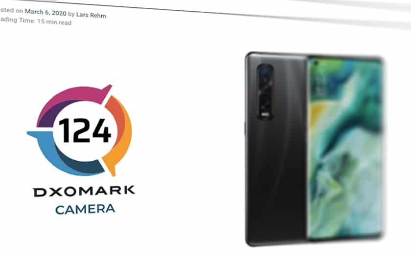DxOMark Oppo Find X2