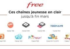 freebox chaines jeunesse en clair