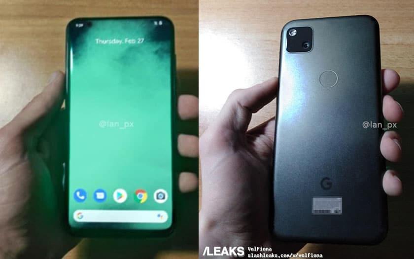 google pixel 4a prise main