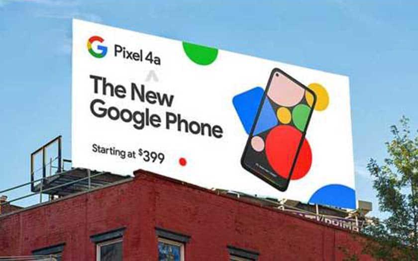 google pixel 4a prix