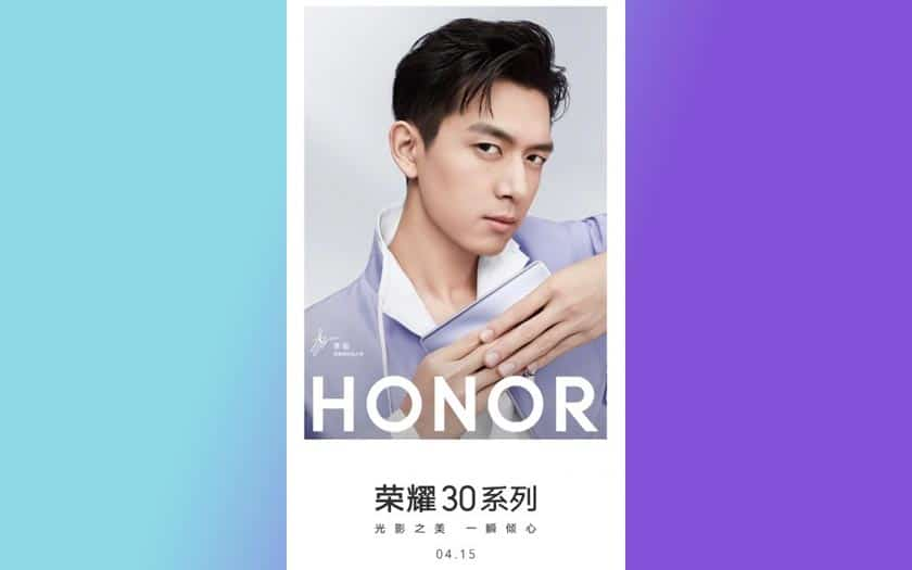 honor 30 présentation 15 avril 2020