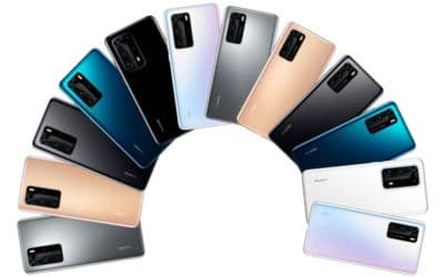 huawei p40 image officielle 3 smartphones