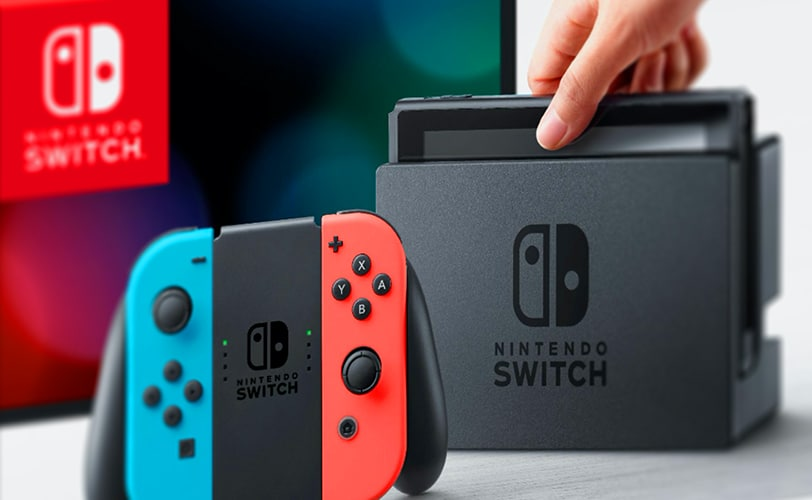 Boîte Nintendo Switch