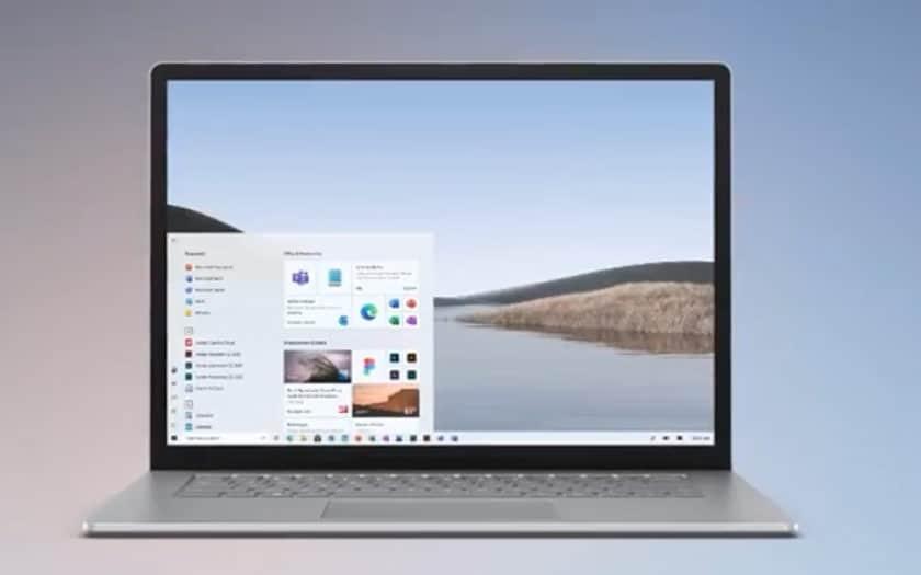 Nouvelle interface Windows 10