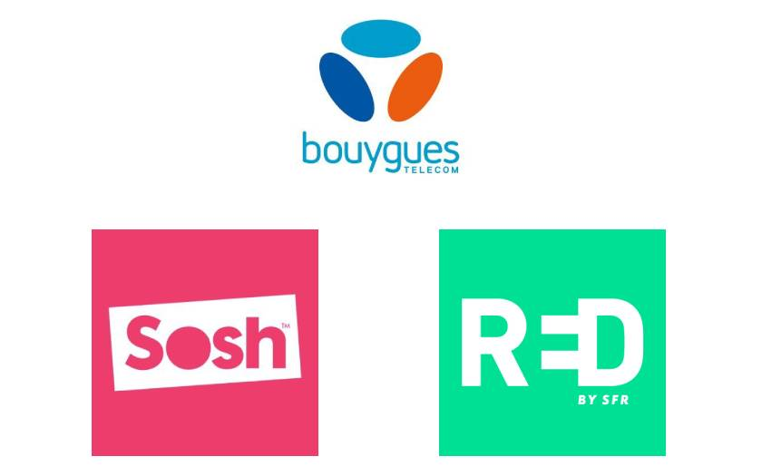 Forfait mobile Bouygues Sosh Red SFR
