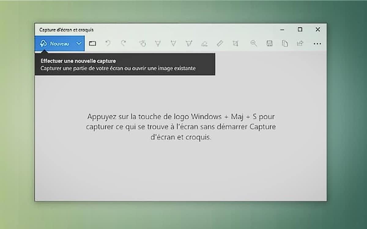 capture écran windows 10