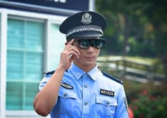 police chinoise lunettes