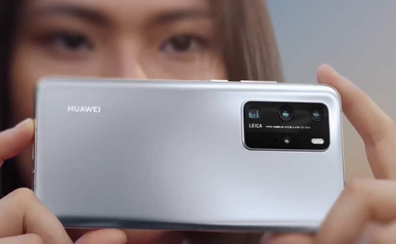 Publicité Huawei P40 Pro