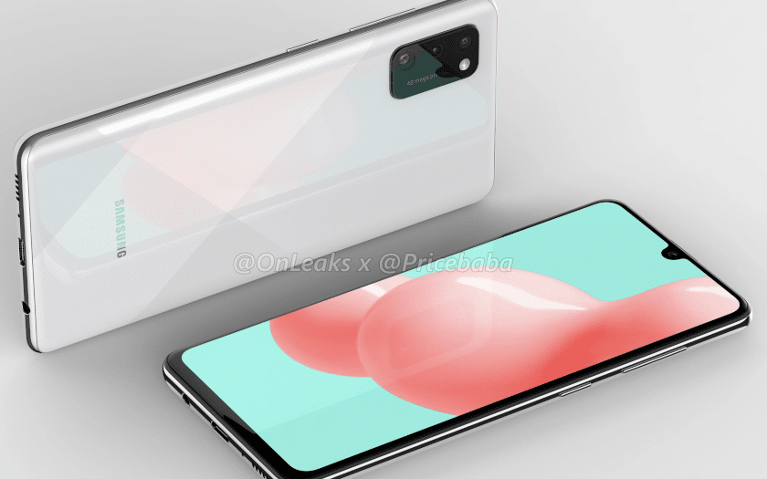 samsung galaxy a41 design leak
