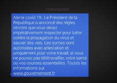 sms gouvernement
