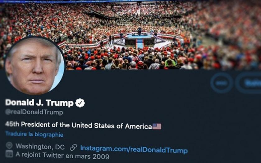 Trump sur Twitter