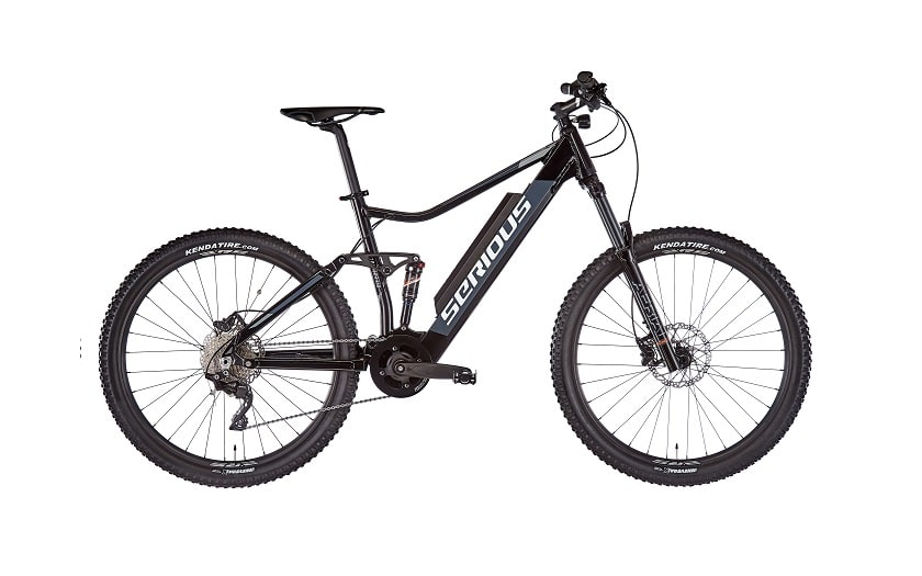 Serious electric mountain bike