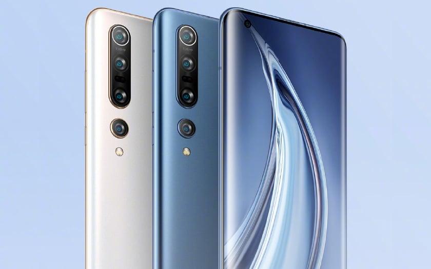 Xiaomi Mi 10 et 10 Pro
