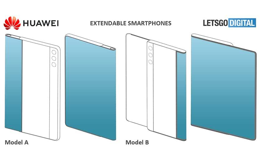 Huawei Smartphone etirable