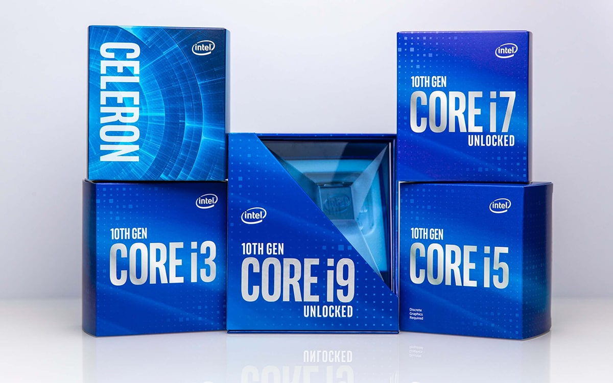 Intel Core Comet Lake