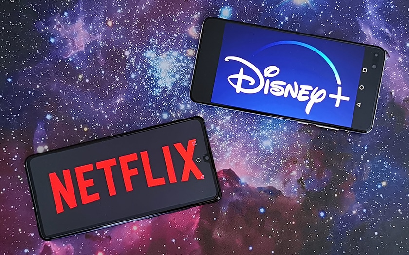 Comparatif Netflix vs Disney+