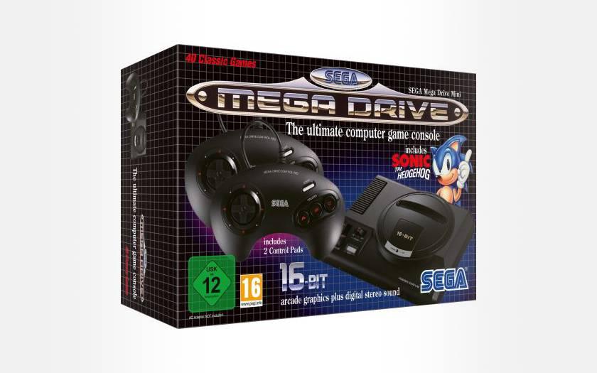 SEGA Mega Drive Mini pas chère