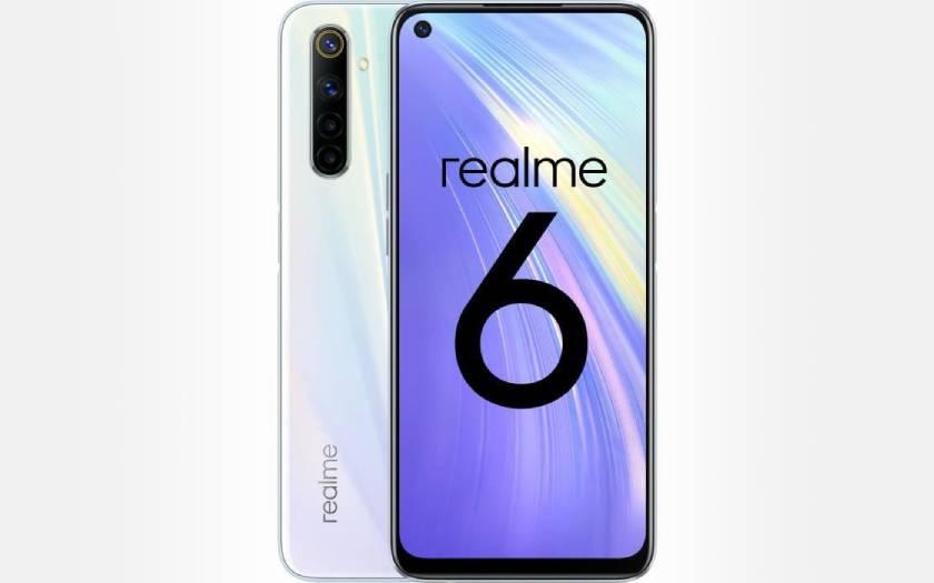Smartphone Realme 6 sous les 200 euros