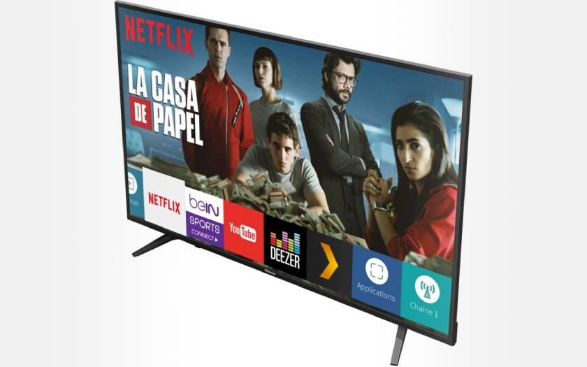TV Hisense H58A6100 pas chère