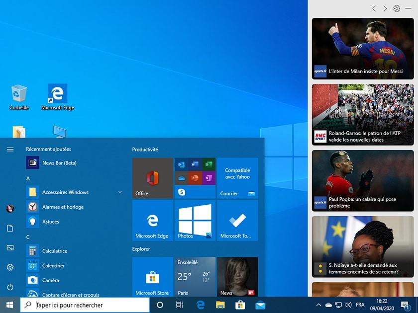 Windows 10 Build 19603