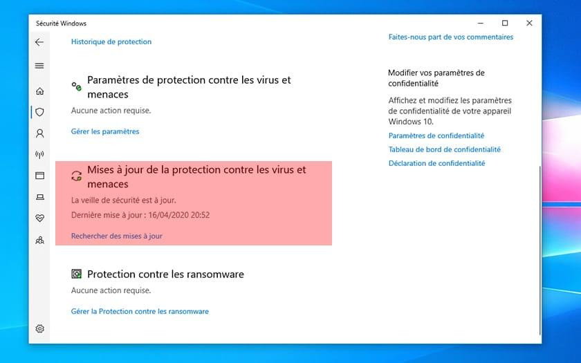 Windows 10 Comment Resoudre Bug Windows Defender