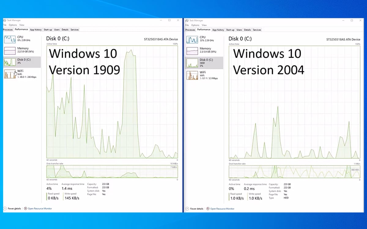 Windows 10 Optimisation Recherche