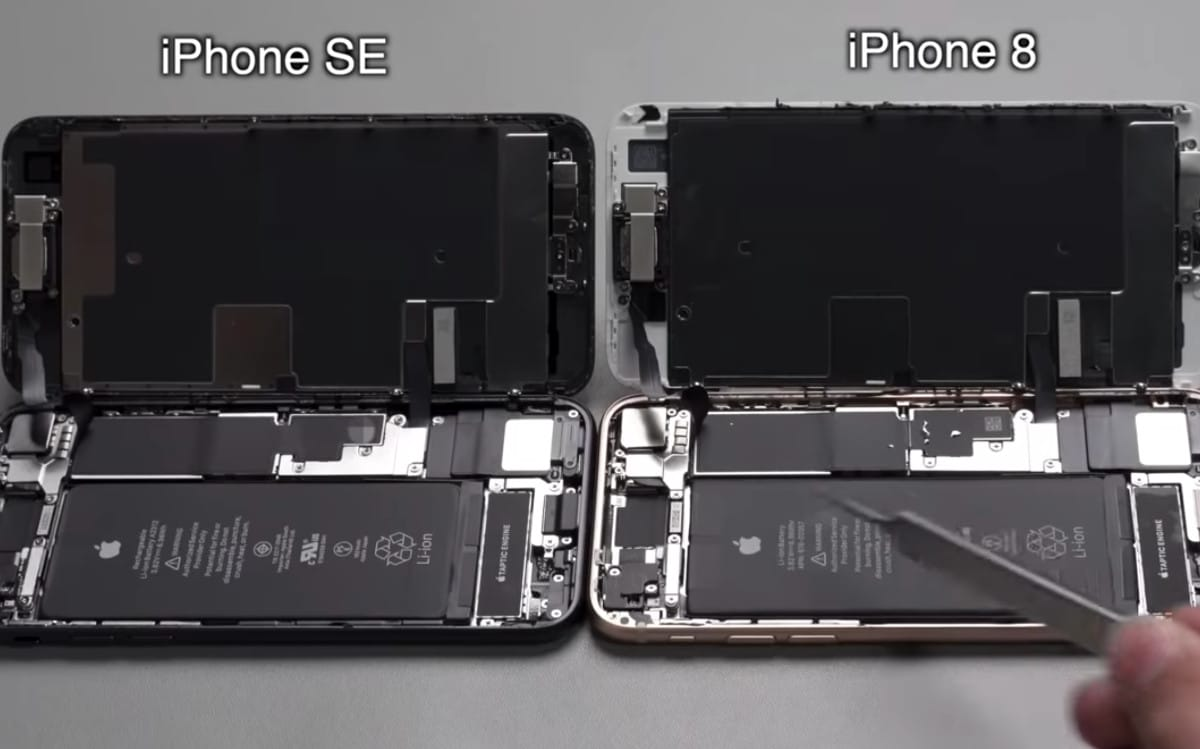 apple iphone se 2020 comparatif iphone 8