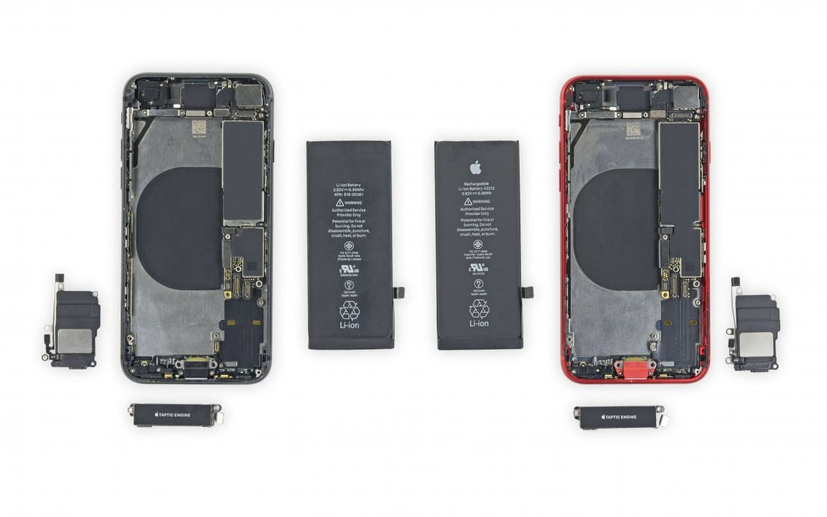 apple iphone se 2020 iphone 8 ifixit