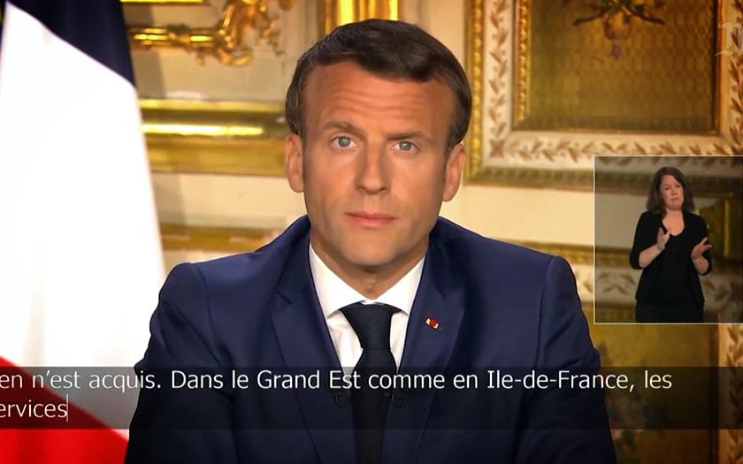 Allocution télévisée Macron StopCovid
