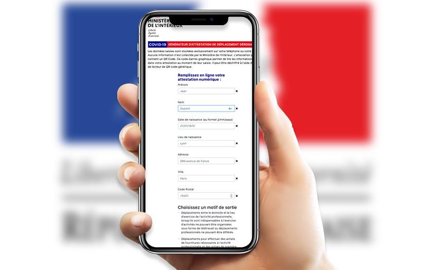 Attestation De Deplacement Numerique Comment Telecharger La Derogation Sur Smartphone