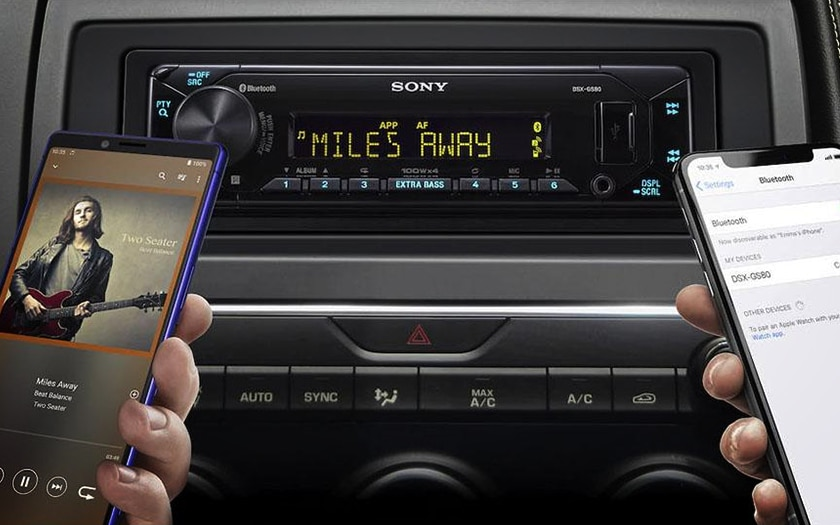 Autoradio Sony DSX-GS80