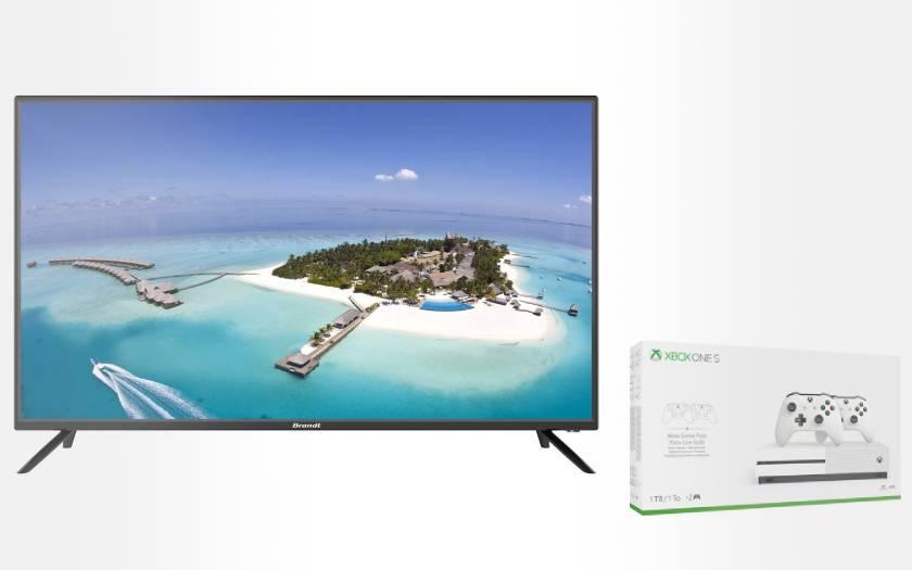 bundle TV Brandt 32 pouces console Xbox One S 1To pas cher