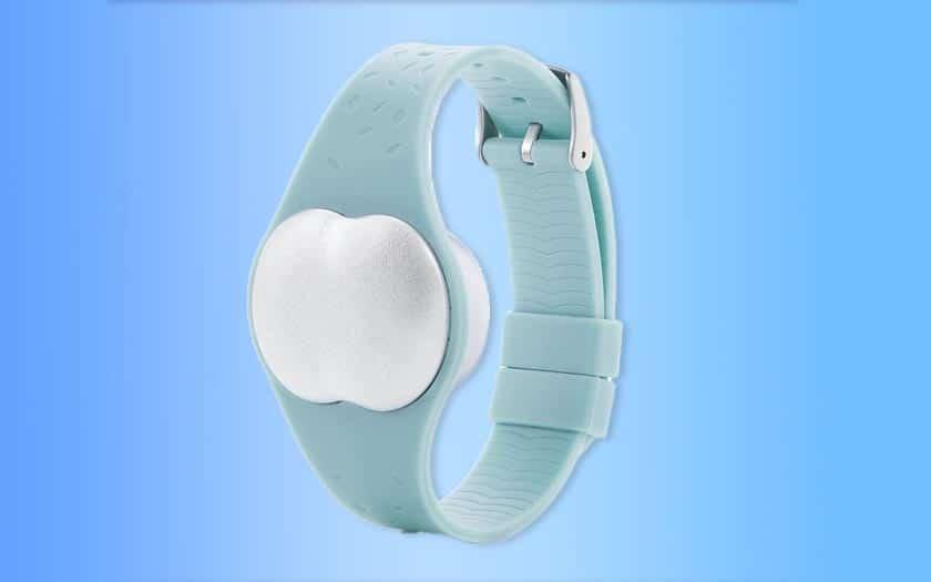 coronavirus bracelet connecté depistage