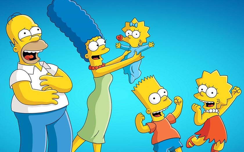disney plus simpsons format origine