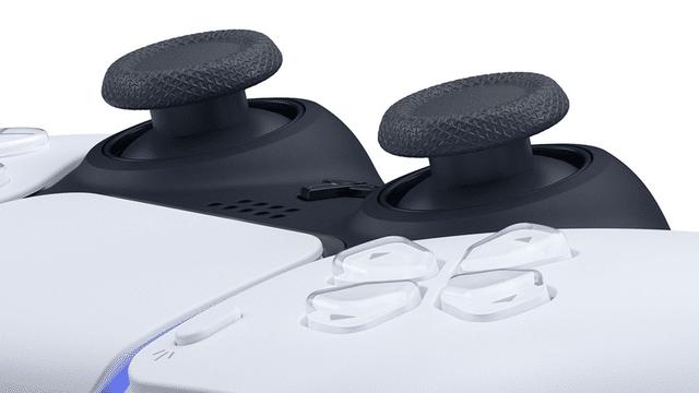 DualSense joysticks