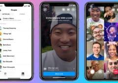 facebook rooms lancement