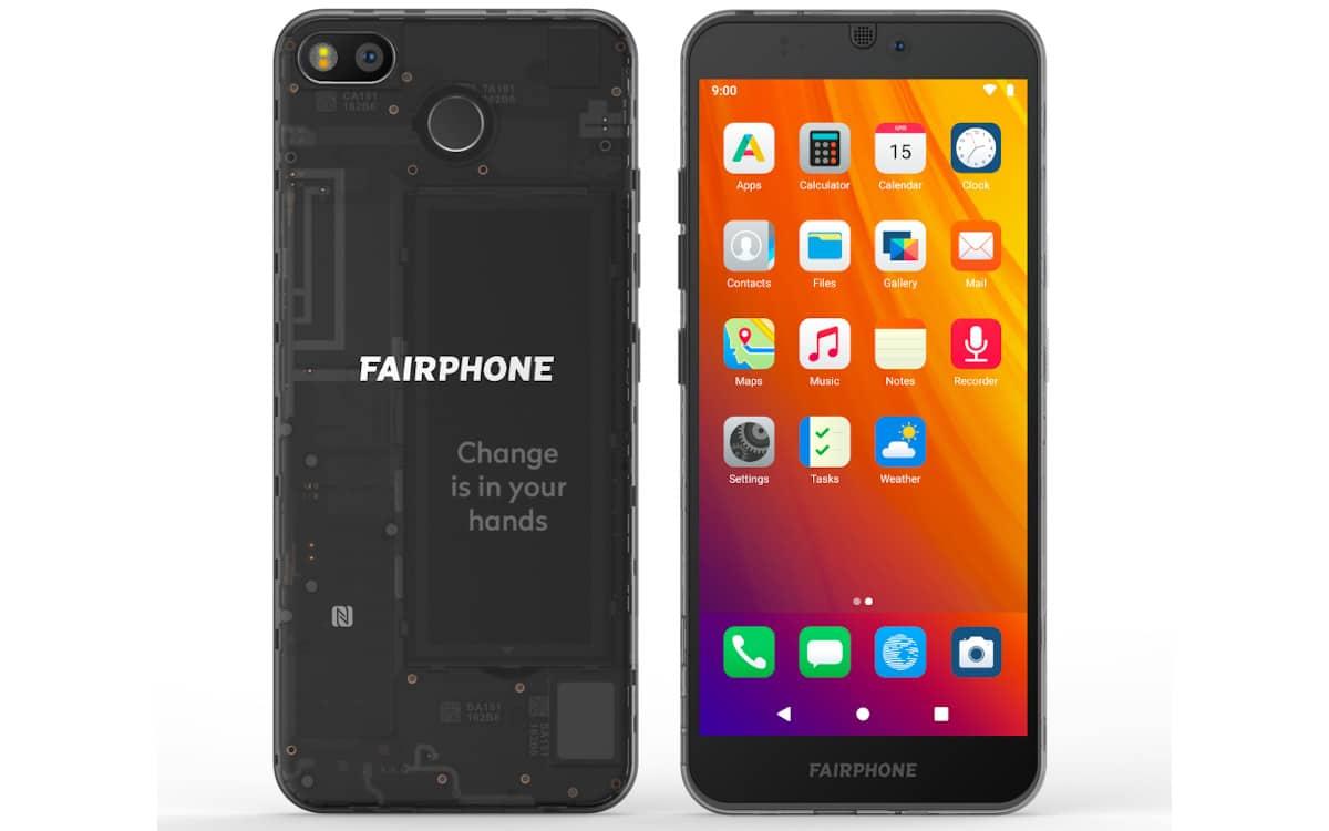 fairphone avec e-os