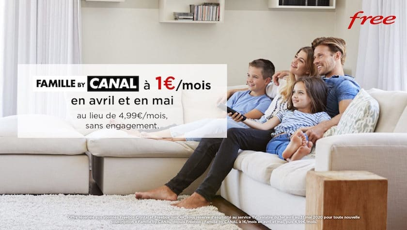 freebox tv pack famille by canal pas cher