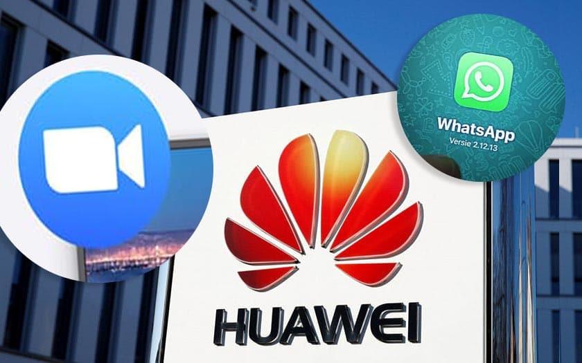 huawei menace etats unis zoom faille whatsapp un numero