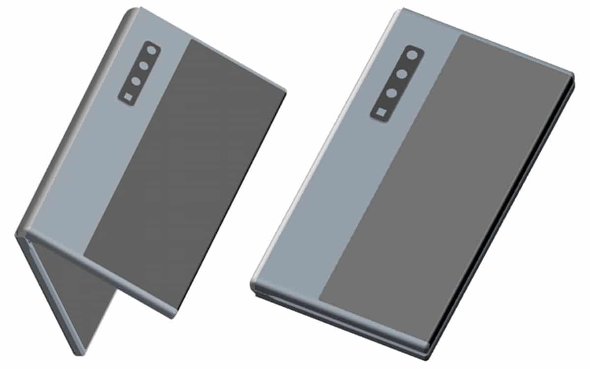 huawei smartphone pliant brevet fold