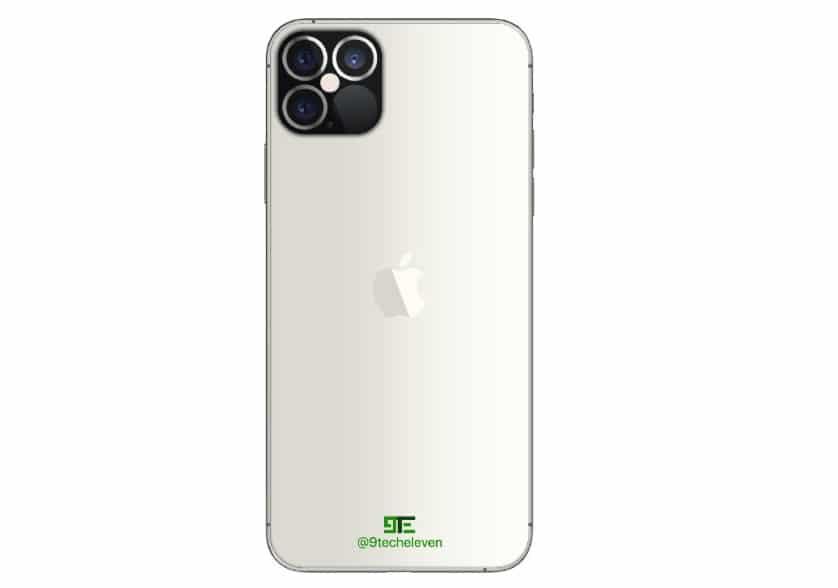 iPhone 12 Pro : design arrière
