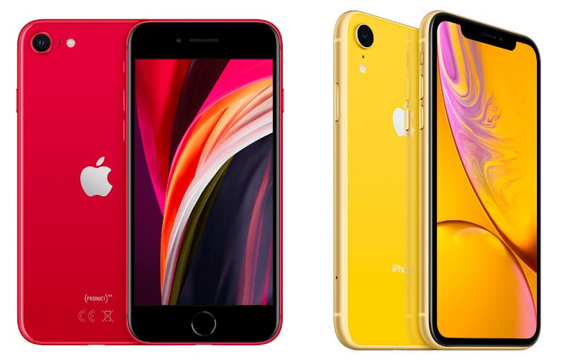 iphone se 2020 vs iphone xr