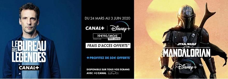 Offres Canal+ avec Disney+