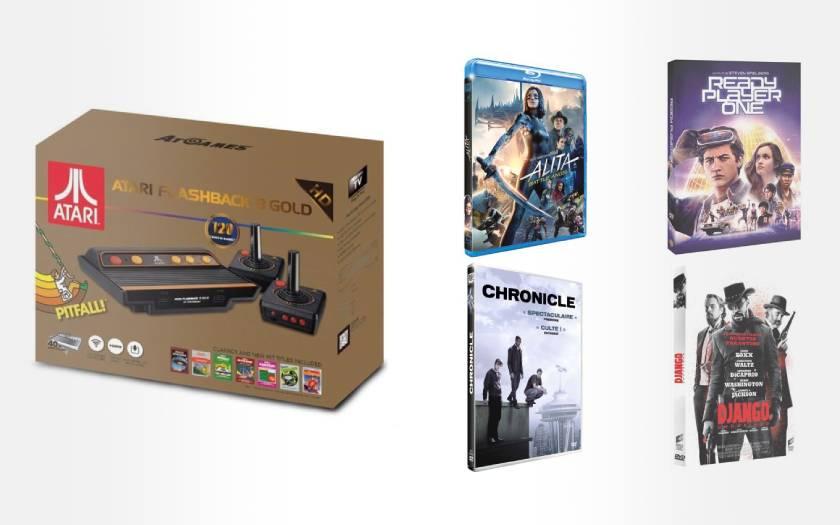 pack console Atari Flashback 8 avec 4 films à prix canon