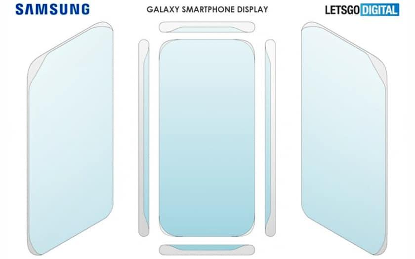 Samsung écran incurvé quatre côtés