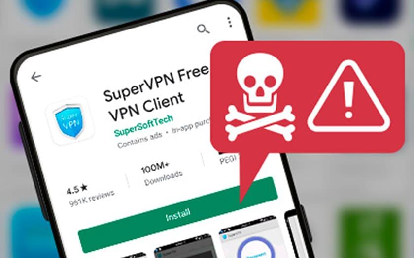 SuperVPN Play Store VPN